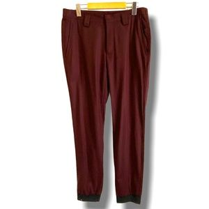 KIT and ACE MEN'S JOGGERS BURGUNDY SIZE 32
